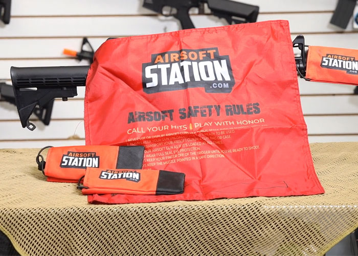 Airsoft Station Barrel Bags And Dead Rags
