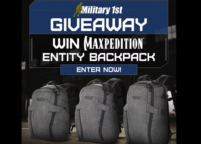 Military 1st Maxpedition Giveaway 2021