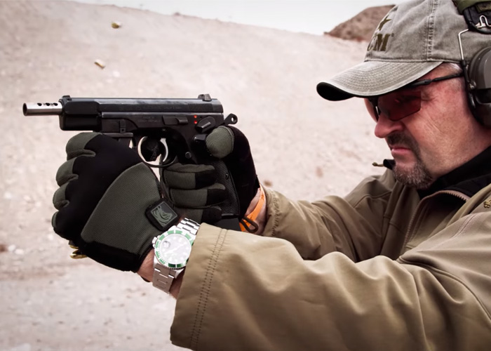 Vickers Tactical: Full Auto CZ-75 Pistol | Popular Airsoft