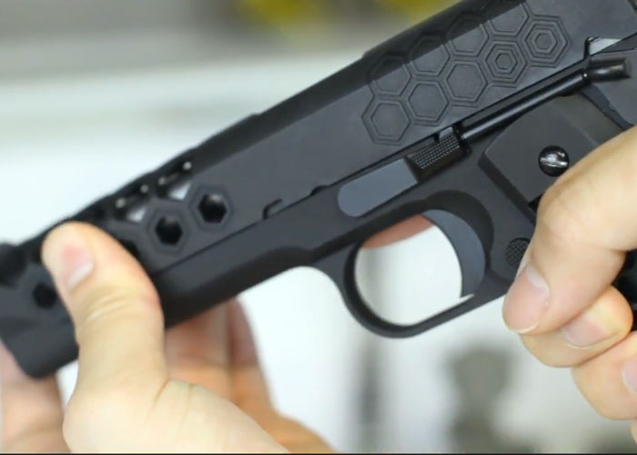 WE 1911 Hex Cut Gen  2 GBB Review   Popular Airsoft: Welcome