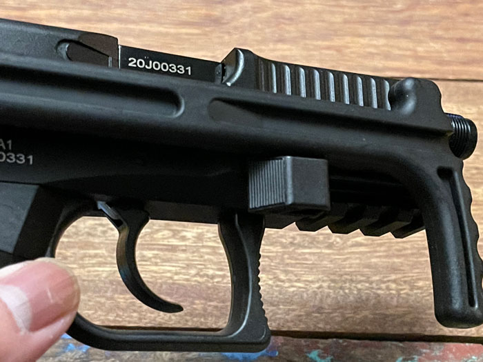 ASG B&T USW A1 CO2 Blowback 15