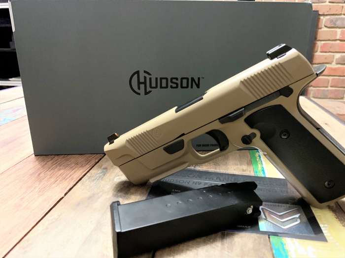 EMG Hudson H9 Airsoft GBB Pistol Review 02