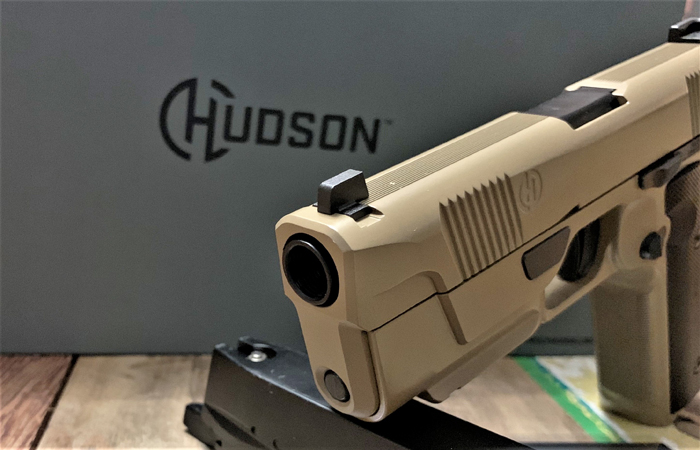 EMG Hudson H9 Airsoft GBB Pistol Review 05