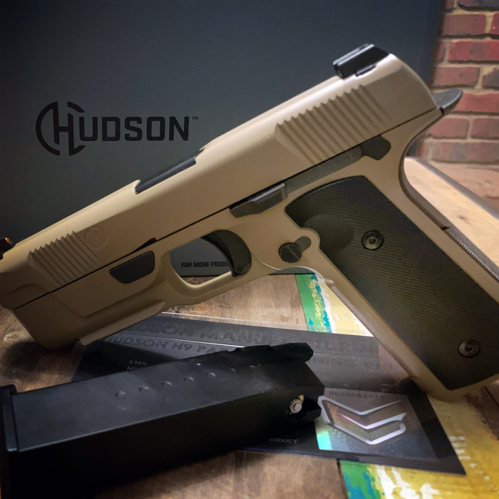 EMG Hudson H9 Airsoft GBB Pistol Review 10