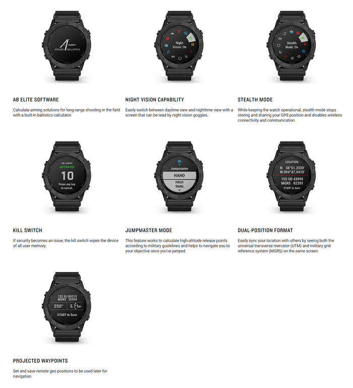 Garmin tactix Delta - Solar Edition with Ballistics 02