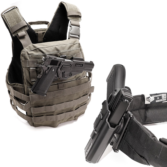 Laylax Battle Style CQC Holster Series 04