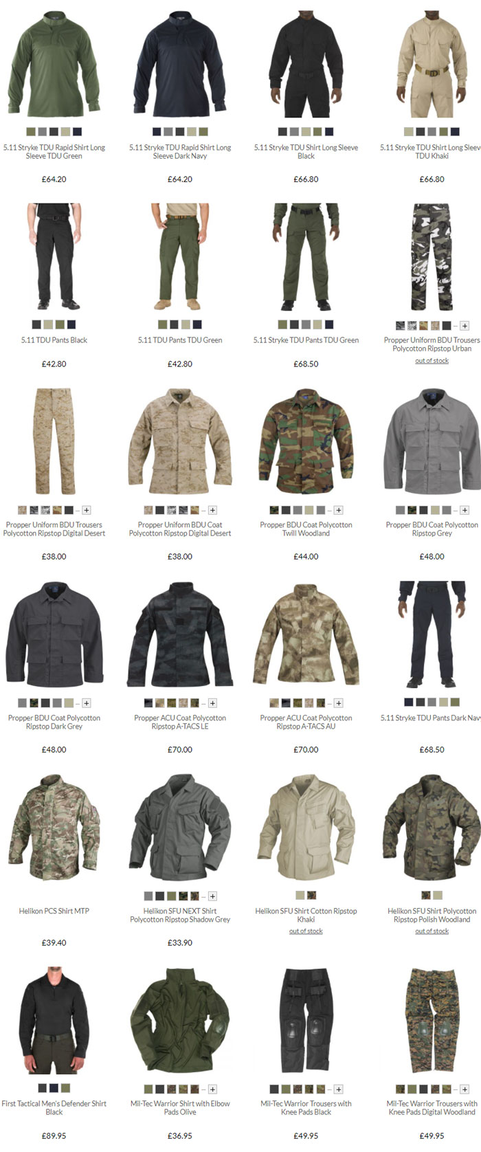 Military 1st Combat Uniform Sale 2020 02