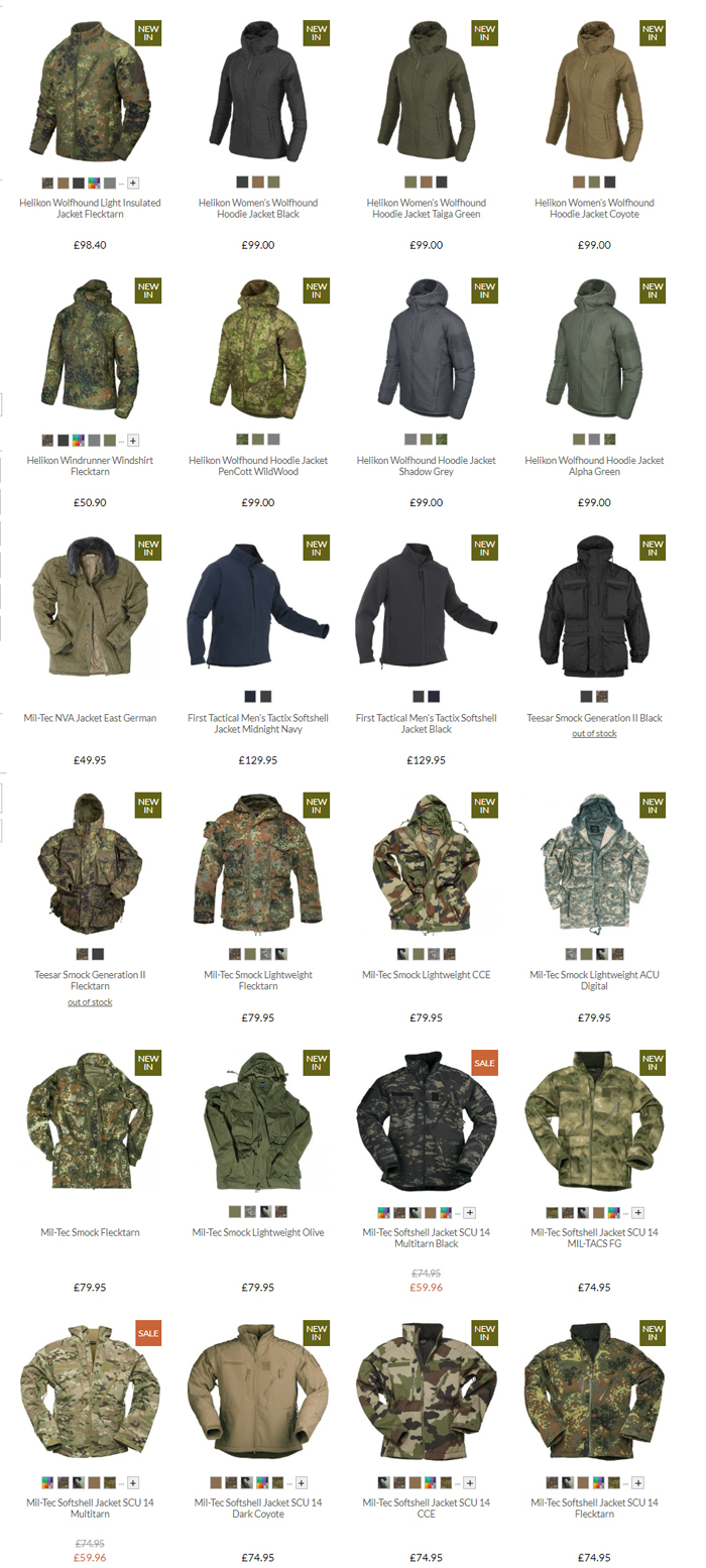 Military 1st Jackets & Coats Sale 2020 02