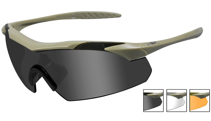 Military 1st: Wiley X WX Vapor Glasses 02