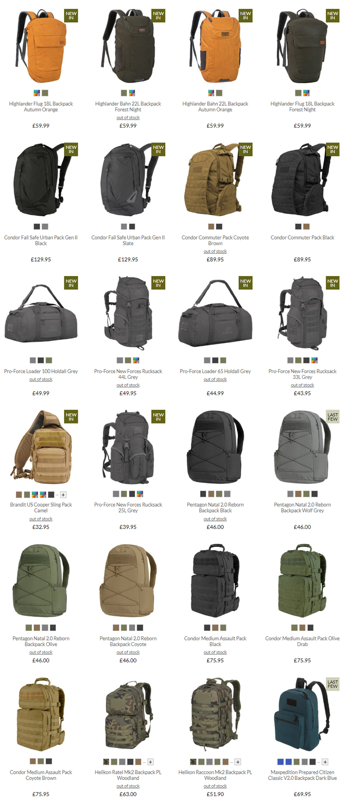 Military 1st Backpacks & Rucksacks Sale 2020 02