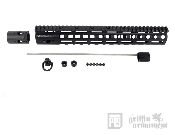 "PTS Griffin Armament Low-Pro RIGID 13.5"" Rail 02"