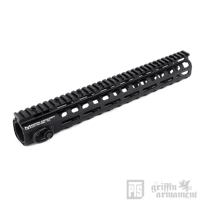 "PTS Griffin Armament Low-Pro RIGID 13.5"" Rail 04"