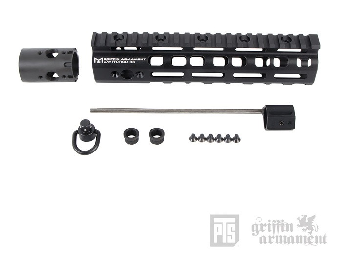 "PTS Griffin Armament Low-Pro RIGID 8.6"" Rail 02"