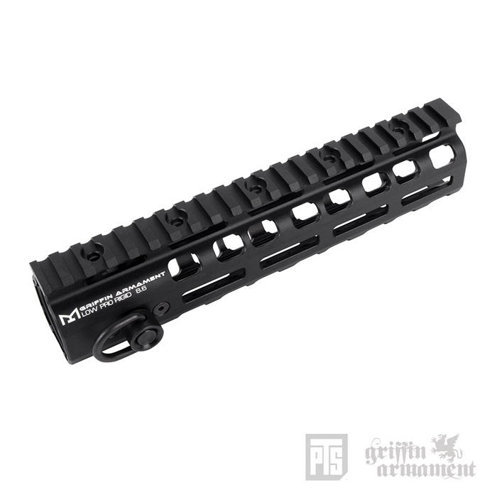 "PTS Griffin Armament Low-Pro RIGID 8.6"" Rail 04"