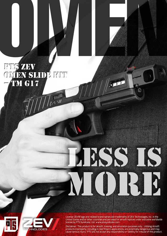 PTS ZEV OMEN Slide Kit TM G17 02