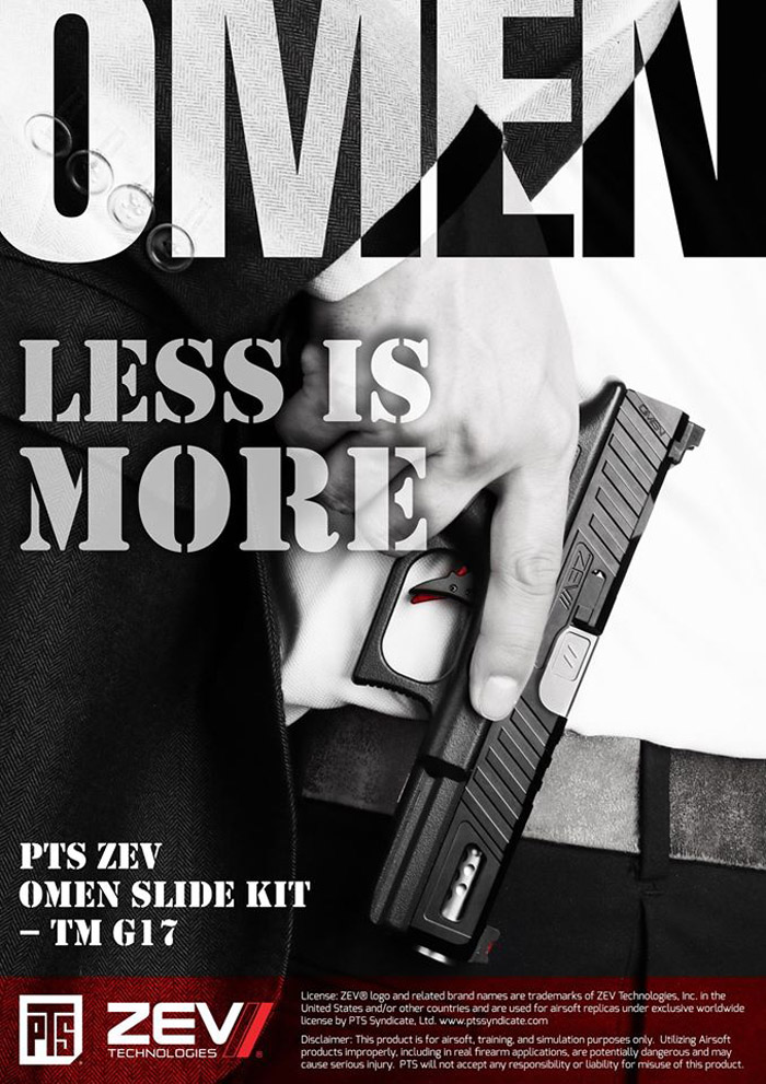 PTS ZEV OMEN Slide Kit TM G17 03