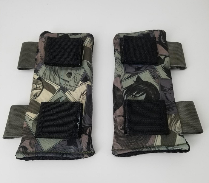 Plate Carrier Shoulder Pads - Ahegao Pattern