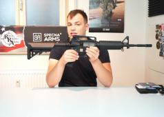 Tom's Airsoft Channels Specna Arms M4A1 AEG Review